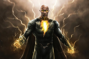 Black Adam 4k Artwork 2021 Wallpaper
