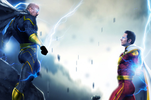 Black Adam And Shazam