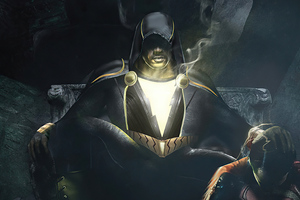 Black Adam I Am The One Wallpaper