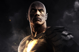 Black Adam Movie Wallpaper