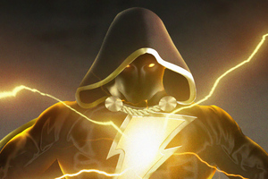 Black Adam New Artwork