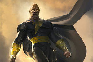 Black Adam Rock 2020 4k
