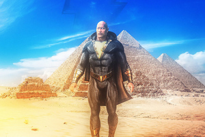 Black Adam Rock Wallpaper