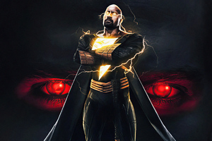 Black Adam V Superman 4k Wallpaper