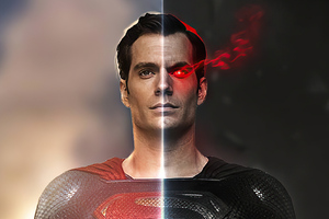 Black And Blue Superman