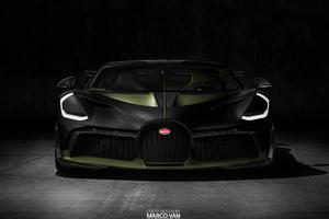 Black And Green Bugatti Divo