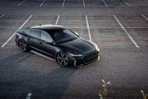 Black Box Richter Audi RS 7 Sportback 2020 8k Wallpaper