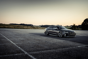 Black Box Richter Audi RS 7 Sportback 2020 Wallpaper