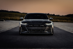 Black Box Richter Audi RS 7 Sportback 2020 Front Wallpaper