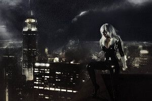 Black Cat Marvel Cosplay Wallpaper
