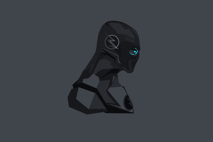 Black Flash Minimalism 4k