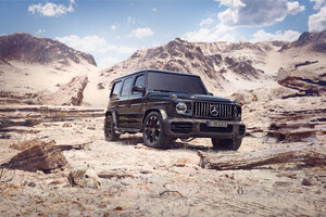Black G Wagon 4k 2020 Wallpaper