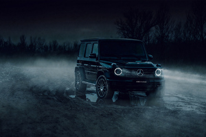 Black G Wagon 4k Wallpaper