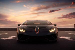 Black Lamborghini 4k