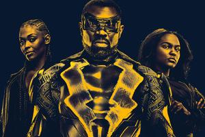 Black Lightning 2018 Cast