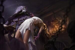 Black Magic Fantasy Art Wallpaper