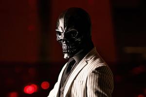 Black Mask Fictional Supervillain Wallpaper