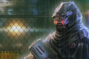 Black Ops With Gun 4k