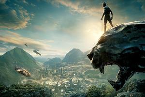Black Panther 2017 8k Wallpaper