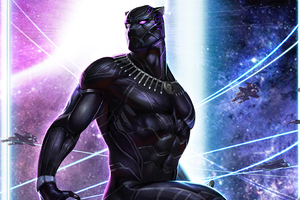 Black Panther 2020 4k Wallpaper