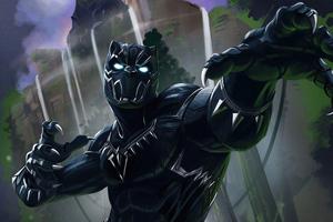 Black Panther 2020 4k Artwork