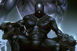Black Panther 2020 Art