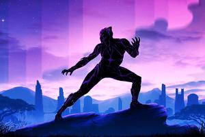 Black Panther 2020 Wallpaper