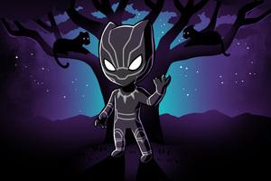 Black Panther 4k Art Wallpaper