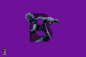 Black Panther 5k Art