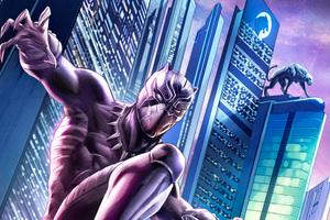 Black Panther 5k Digital Art