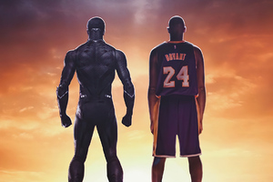 Black Panther And Kobe Bryant