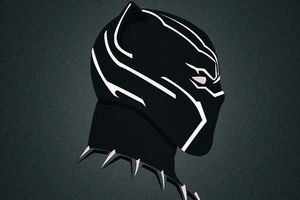 Black Panther Art HD Wallpaper