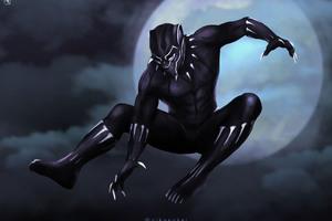 Black Panther Arts 4k Wallpaper