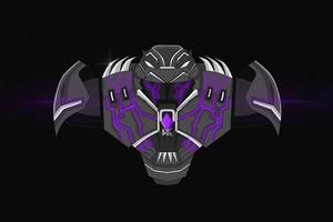Black Panther Buster Minimal 5k