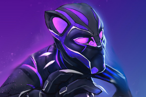 Black Panther Comic Fanart 5k Wallpaper