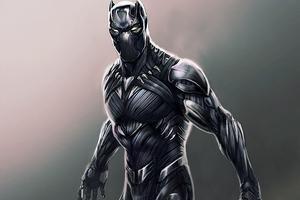 Black Panther Digital Artwork