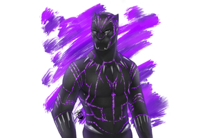 Black Panther Fan Made Artwork