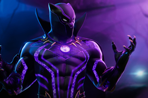 Black Panther Fortnite 4k