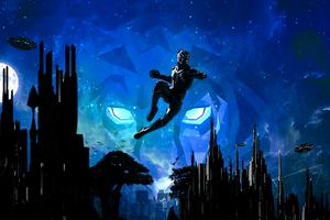 Black Panther Marvel Cinematic Universe Artwork