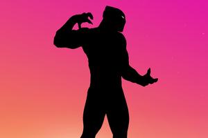 Black Panther Minimal 5k Wallpaper
