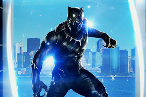 Black Panther Movie Art