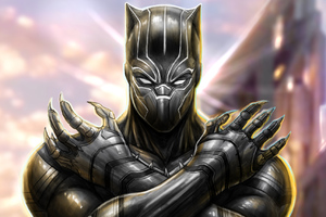 Black Panther New Arts Wallpaper