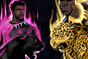 Black Panther Vs Erik Killmonger