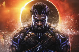 Black Panther Wakanda King 2020 Wallpaper