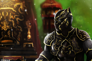 Black Panther Wakanda King Artwork