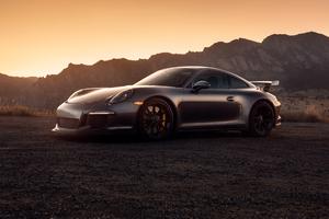 Black Porsche 2020 Wallpaper