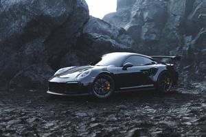 Black Porsche4k Wallpaper