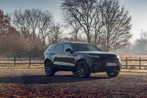 Black Range Rover Velar 8k Wallpaper