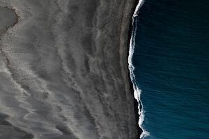 Black Sand Iceland Landscape Space Vik 5k