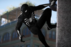 Black Spiderman 4k